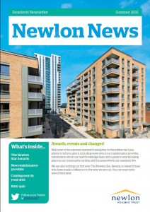 Newlon residents' newsletter