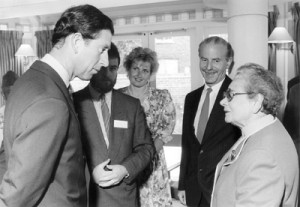 Prince Charles opens Hackney supported housing scheme