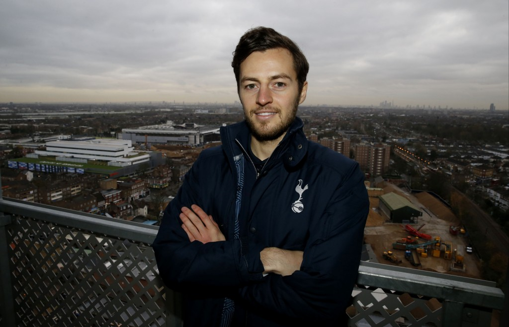 Ryan Mason Attends the Official Opening of Brook House Primary School