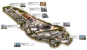 Arsenal regeneration map