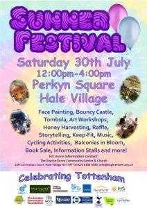 2016 Hale Village Summer Festival poster