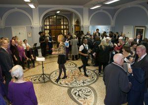 Choir and reception at the Newlon Star Awards 2018