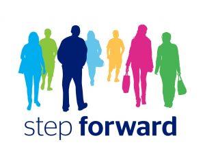Step Forward employment programme logo